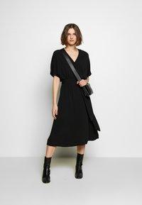 Selected Femme - SLFVIENNA DRESS - Day dress - black - 1