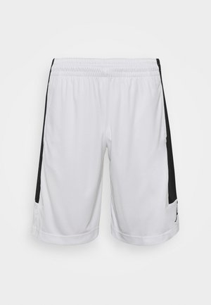 AIR DRY SHORT - Sports shorts - white/black