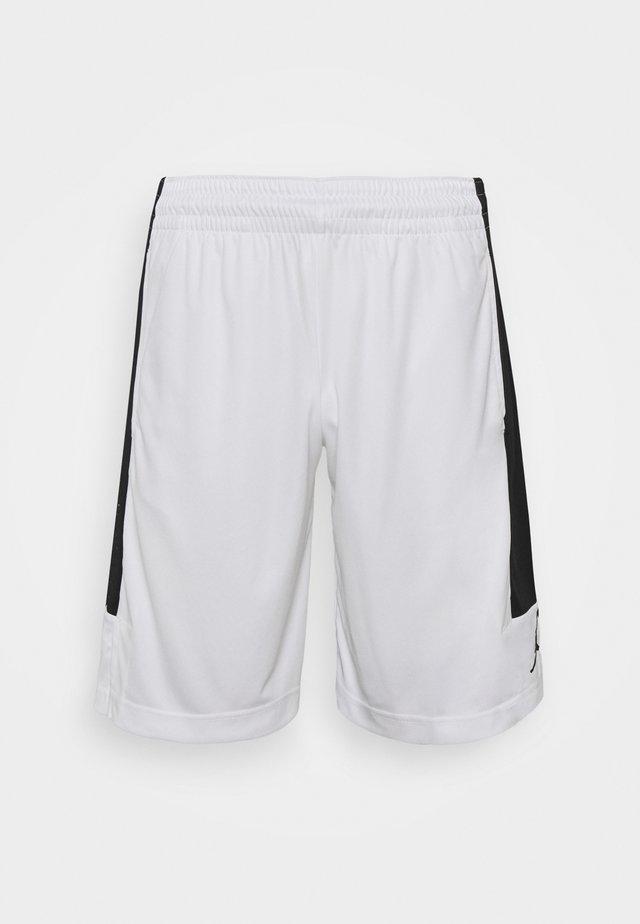 AIR DRY SHORT - Korte sportsbukser - white/black