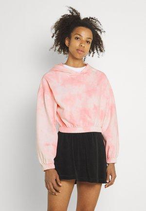 JACKIE HOODIE - Sweatshirt - pink tie dye