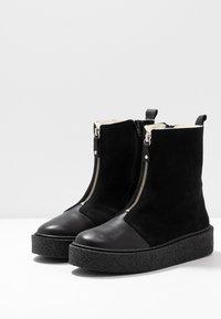 Ca'Shott - Platform ankle boots - black - 4