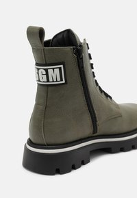 MSGM - UNISEX - Lace-up ankle boots - khaki - 6