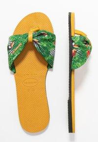 Havaianas - YOU TROPEZ - Sandaler m/ tåsplit - burned yellow - 3