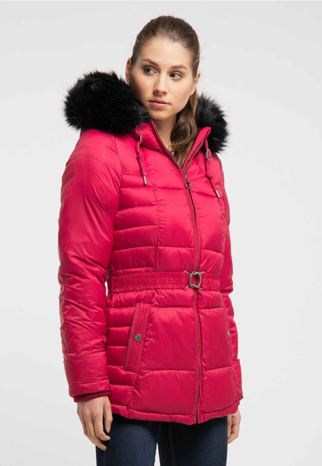 Zimní kabát - dark red