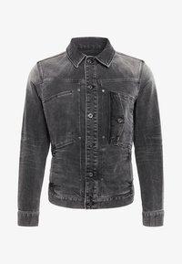G-Star - SCUTAR SLIM - Denim jacket - antic charcoal - 5