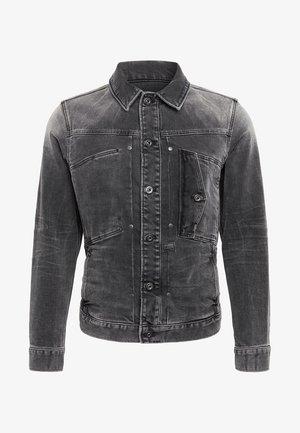 SCUTAR SLIM - Denim jacket - antic charcoal