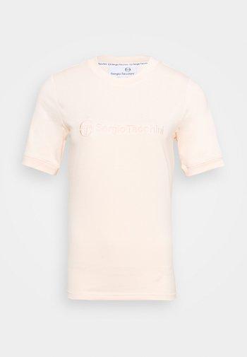 AMELIA - T-shirt z nadrukiem - pearl blush