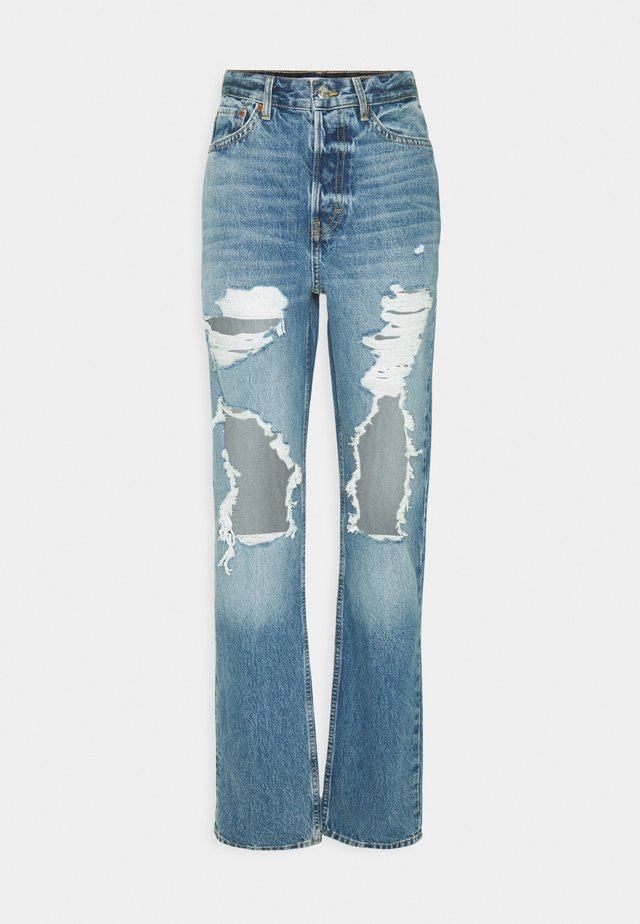 DESTROY DAD - Relaxed fit jeans - blue