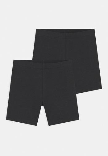 MINI BIKER 2 PACK - Shorts - offblack