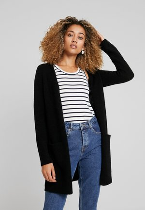 KAITLYN NEW CARDIGAN - Strikjakke /Cardigans - pitch black