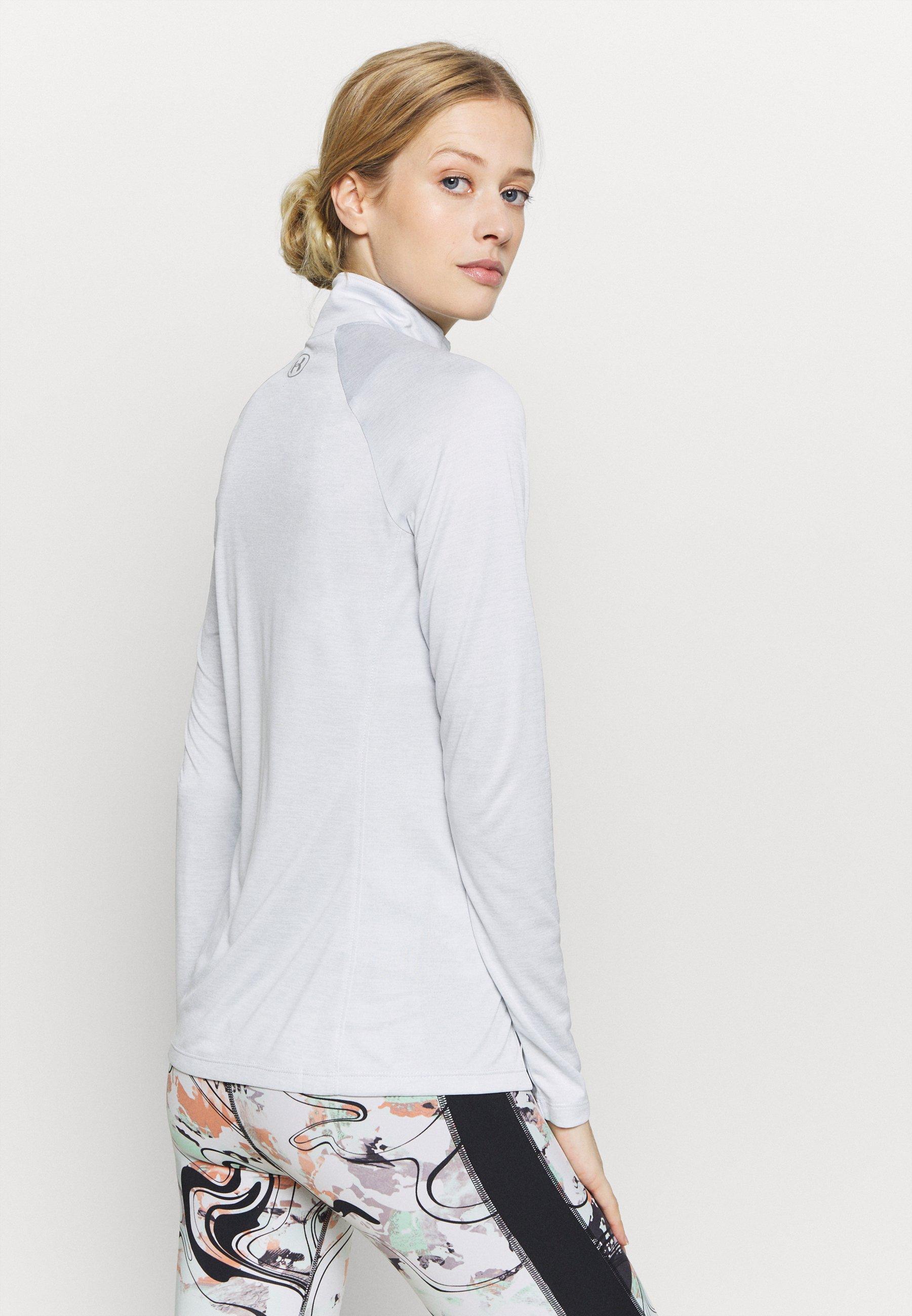 Donna TECH 1/2 ZIP TWIST - T-shirt sportiva