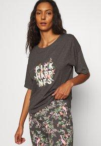 Marks & Spencer London - HAPPINESS - Pyjamas - charcoal - 3
