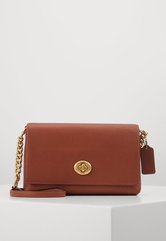 CROSSTOWN CROSSBODY - Schoudertas - saddle