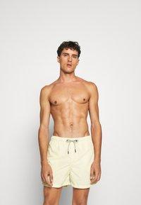 Jack & Jones - JJIARUBA SWIM  SHORTS - Swimming shorts - flan - 0