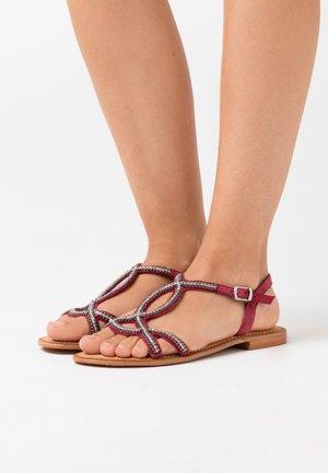 Sandals - tibetan red