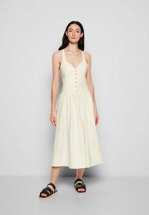 DRESS - Robe d'été - yellow