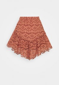 YAS - YASVALANTA SKIRT ICON  - Mini skirt - cedar wood - 1