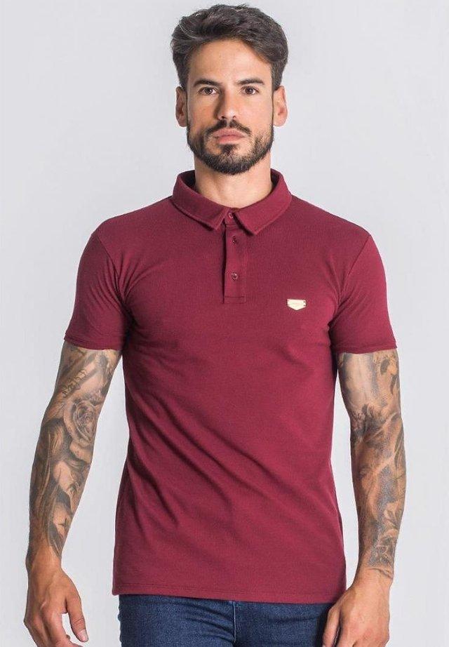Polo - burgundy
