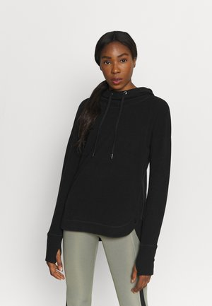 ESCAPE LUXE HOODY - Huppari - black