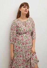Violeta by Mango - ROUSE8 - Day dress - pink - 2