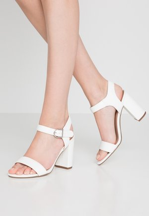 VIMS - High heeled sandals - white