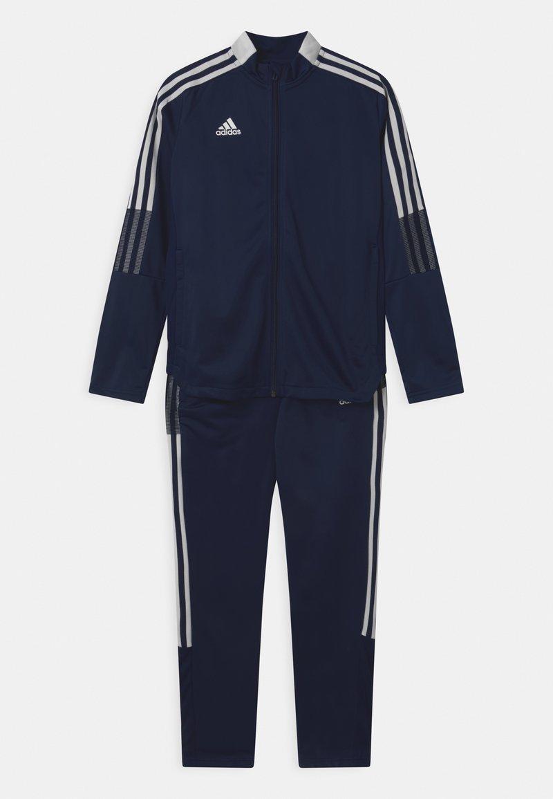 adidas Performance - TIRO SET UNISEX - Tracksuit - team navy blue