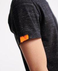 Superdry - VINTAGE  - T-shirt print - vast black space dye - 3