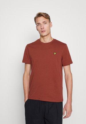 PLAIN - Basic T-shirt - rust