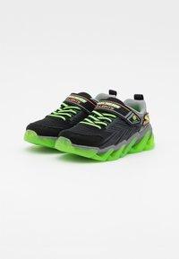 Skechers - MEGA SURGE - Trainers - black/lime/orange - 1