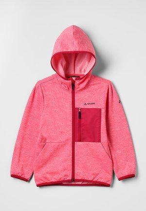 KIKIMORA JACKET - Fleece jacket - bright pink