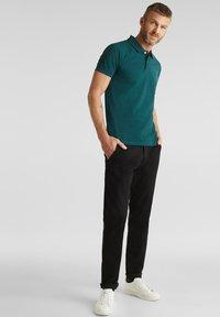 Esprit - OCS  - Koszulka polo - dark green - 1