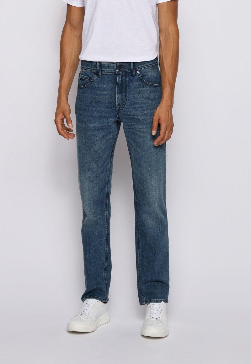 BOSS - ALBANY  - Straight leg jeans - blue