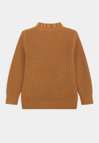 ARKET - OLIVIA FRILL JUMPER - Maglione - brown medium dusty - 1