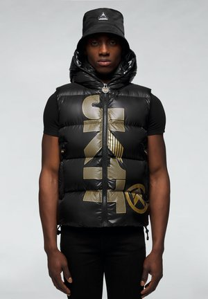 PRIME SLICK - Veste sans manches - black/gold