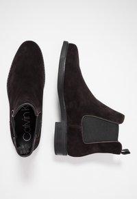 Calvin Klein - FINTAN CHELSEA - Nilkkurit - dark brown - 1