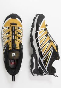 Salomon - X ULTRA 3 GTX - Hiking shoes - arrowwood/black/lemon zest - 1