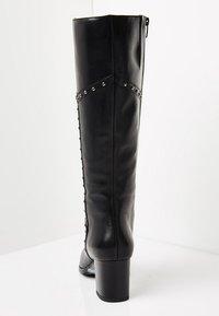 usha - Overknee laarzen - black - 3