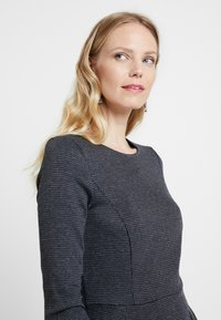 Esprit - JAQUARD DRESS - Shift dress - grey/blue - 4