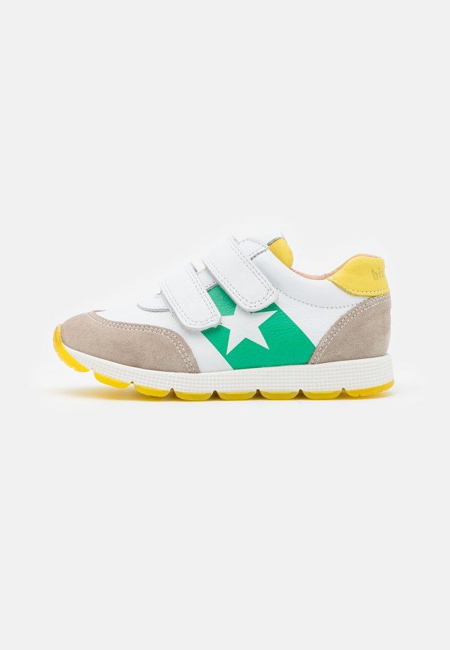 LIAM UNISEX - Sneakers laag - white/green