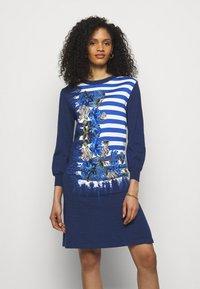 Alberta Ferretti - DRESS - Pletené šaty - blue - 0