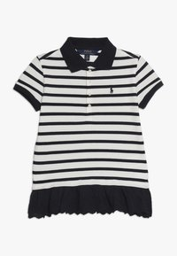 Polo Ralph Lauren - STRIPE - Polo - hunter navy/nevis - 0