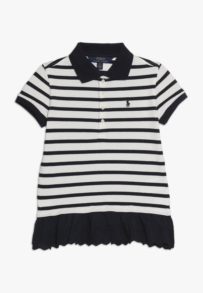 Polo Ralph Lauren - STRIPE - Polo - hunter navy/nevis
