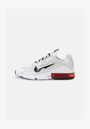 AIR MAX INFINITY 2 - Sneakers basse - white/black/university red/photon dust