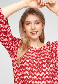 s.Oliver - Blouse - red zic zac stripes - 3