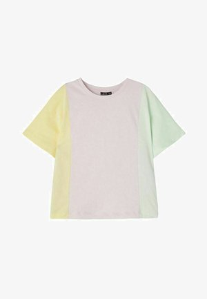 T-shirt con stampa - lilac snow