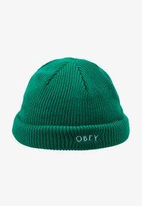 Obey Clothing - ROLLUP BEANIE - Gorro - green lake - 4