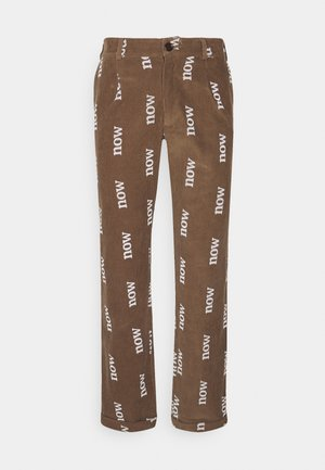 SPECIAL EDITION UNISEX - Broek - b.tabacco/white
