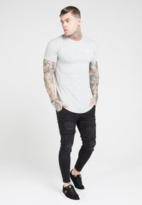 SIKSILK - T-shirt basic - grey marl - 0