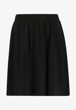 PCSOLA SKIRT - A-line skirt - black