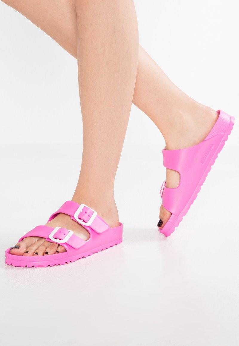 Birkenstock - ARIZONA - Pool slides - neon pink